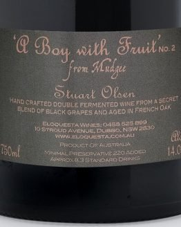 A Boy With Fruit No. 2 Red Grape Blend Wine