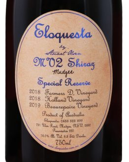 Eloquesta Wines MV Shiraz