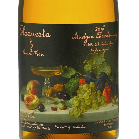 2017 Eloquesta Cotto Chardonnay Label